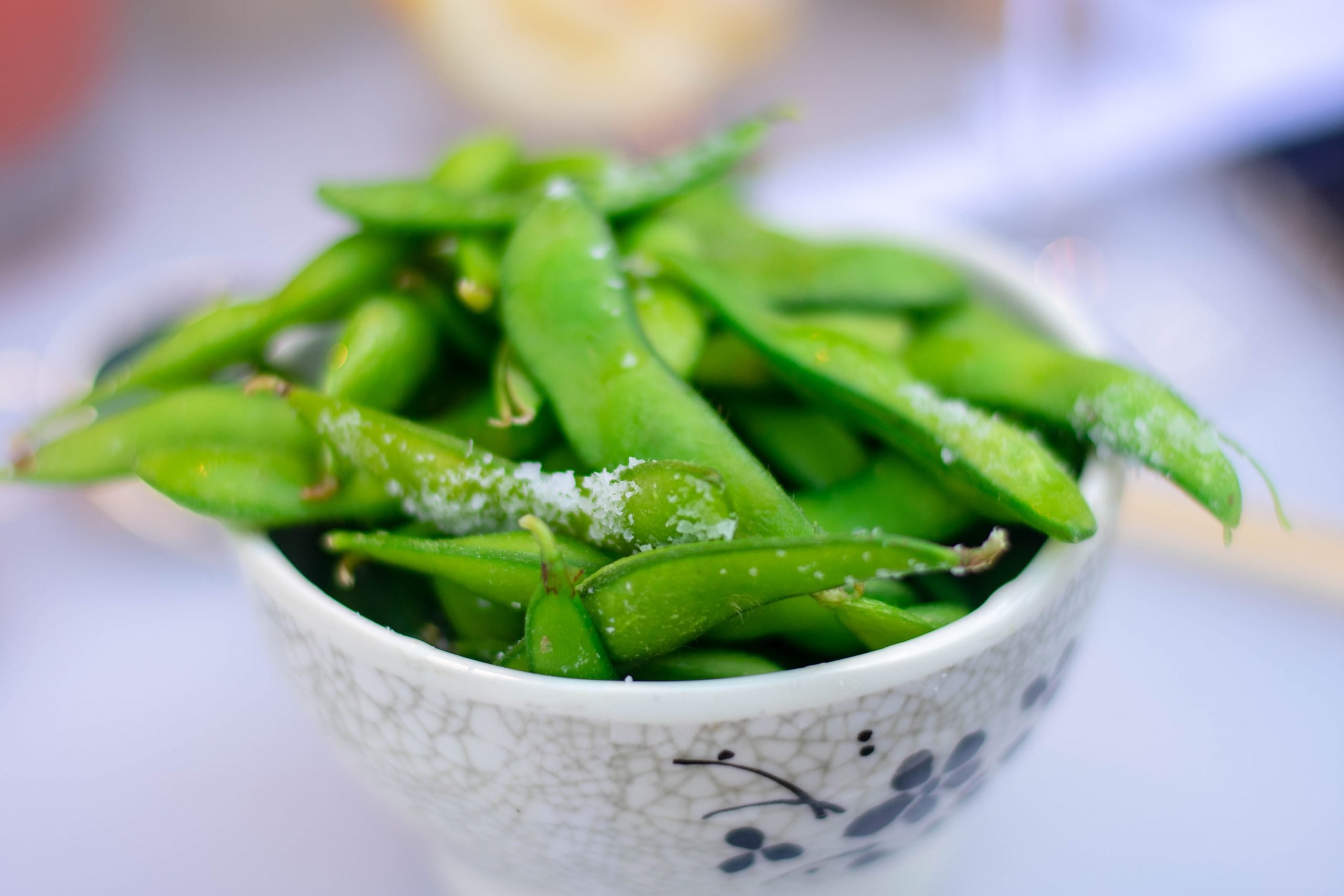 Garlic Parmesan Sugar Snap Peas