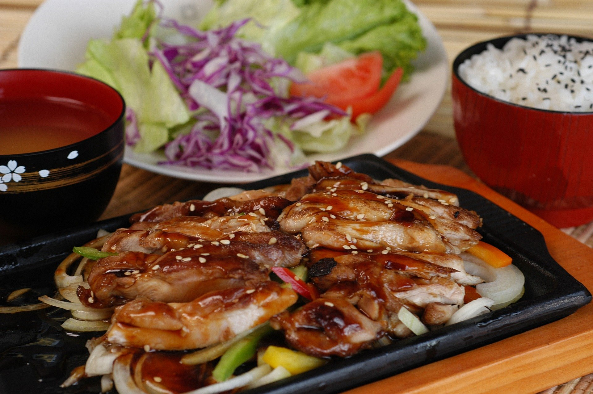 Teriyaki Chicken with Veggies