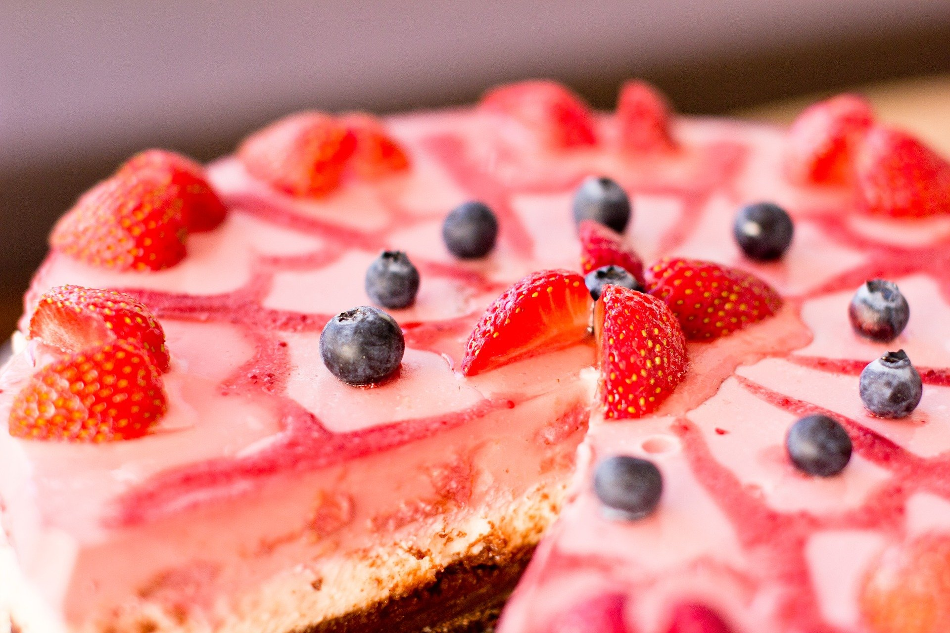 Acai Berry Cheesecake